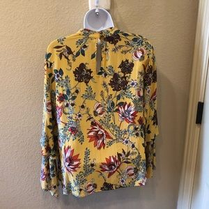 Angie Tops - Angie Long Sleeved Floral Tunic